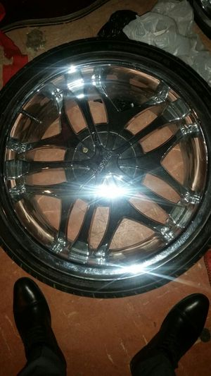 "20"" Dynasty 421 chrome rims for Sale in Washington, DC"
