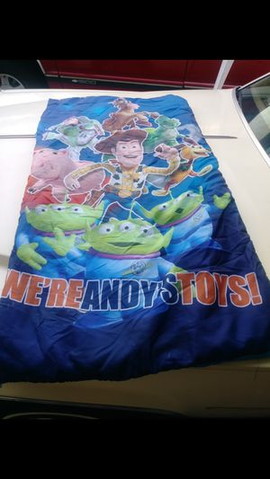 Free Kids sleeping bag toy story for Sale in Whittier, CA
