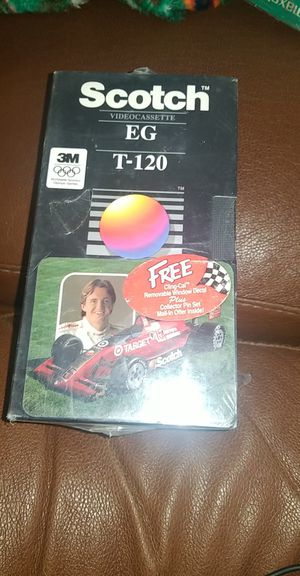 3 pack scotch eg t 120 VHS tape for Sale in Richland, WA