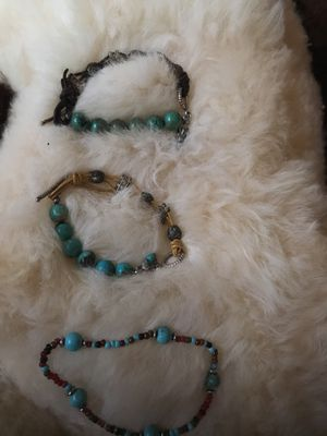 Turquoise bracelets for Sale in Colorado Springs, CO