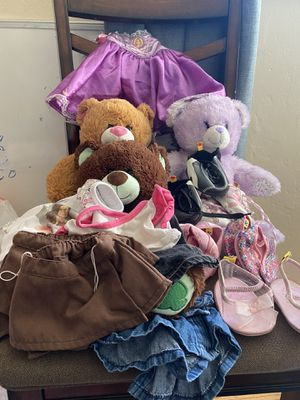 3 Build a Bears- clothes and shoes- Girl Scout & iCarly for Sale in Spring Valley, CA