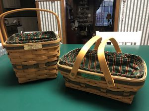 Collectible Longaberger Christmas Baskets for Sale in East Berlin, PA