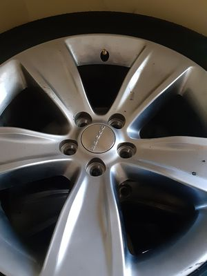 18's Dodge rim's with tires 235-55-18 for Sale in Union City, GA