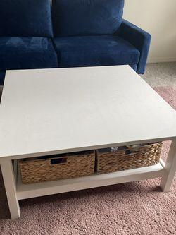 White IKEA Coffee Table for Sale in Mukilteo,  WA