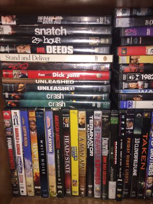 DVDs 2 bucks a piece for Sale in Columbus, OH