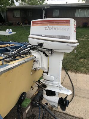 1986 Johnson 2-stroke 45hp boat outboard motor for Sale in Broomfield, CO