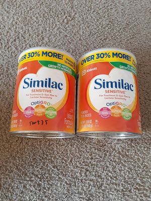Similac sensitive. Available for Sale in Everett, WA