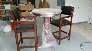 Bistro table and two chairs for Sale in Chelan, WA
