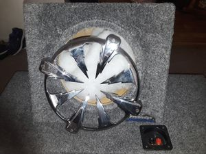 JL Audio Pro Wedge 10 in Subwoofer Box With Grill for Sale in Sacramento, CA
