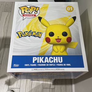 Brand New In Box Pop Funko 18 Inch Pikachu Pokemon for Sale in Boynton Beach, FL