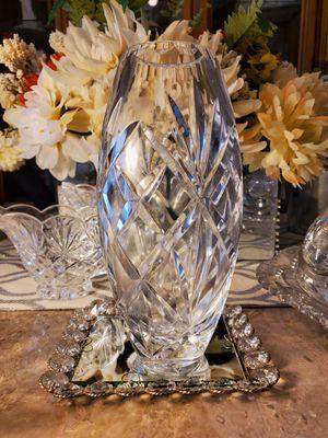 """American brilliant 7"""" vase for Sale in Albuquerque, NM"""