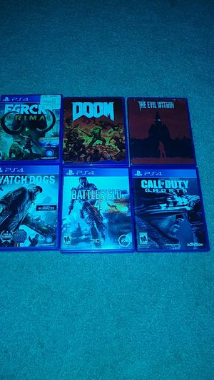 PS4 GAMES FOR SALE for Sale in Silver Spring, MD