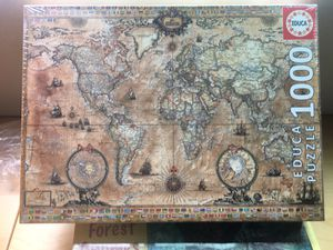 Puzzle game 1000 piece World map (never used) for Sale in San Diego, CA