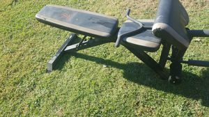 Bench adjustable for Sale in Bakersfield, CA