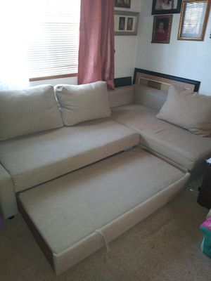 L shaped couch with storage room for Sale in Battle Ground, WA