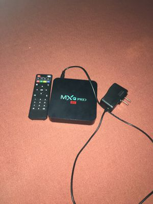 MXQ Pro 4K for Sale in Port St. Lucie, FL