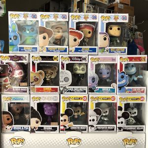 Funko Pop - DISNEY ASSORTMENT - Toy Story, Facilier, Simba, Jack, Ursula, Genie, Moana, Regina, Mickey for Sale in Rowland Heights, CA