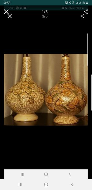 Beautiful rare vintage lamps for Sale in San Diego, CA