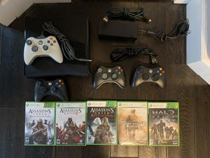 XBox 360, + controllers and games for Sale in Hillsboro, OR