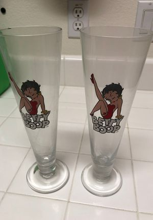 Betty bop glass for Sale in Antioch, CA