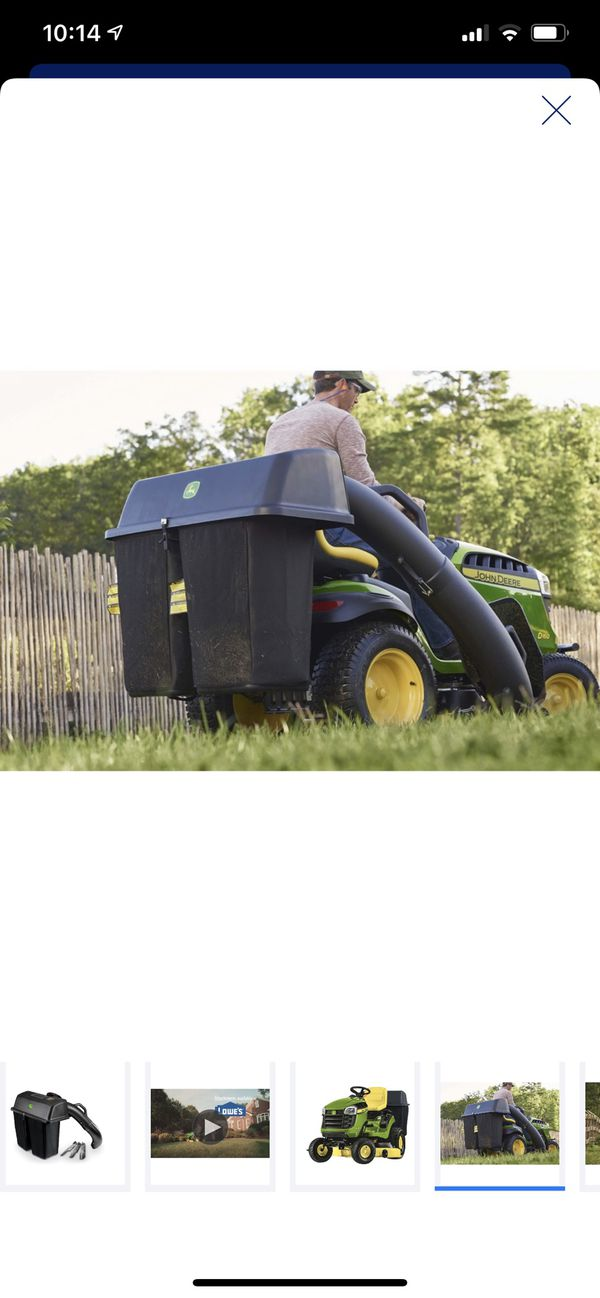 Bushel Twin bagger for 48-in tractor ((New))