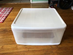 Plastic drawer storage container for Sale in Los Angeles, CA