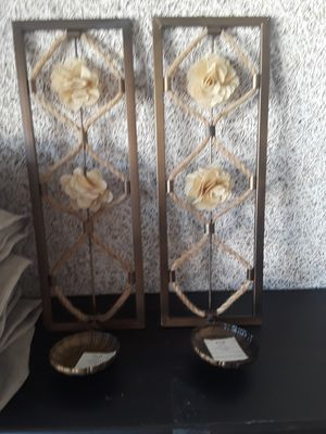 Wall hanging candle holders for Sale in Springfield, VA