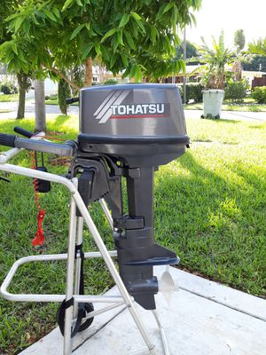 Tohatsu 8 hp 2 stroke for Sale in Hillsboro Beach, FL