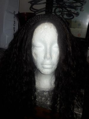 Braided lacefront wig for Sale in San Jacinto, CA