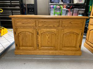 Buffet & Corner Curio for Sale in Chandler, AZ