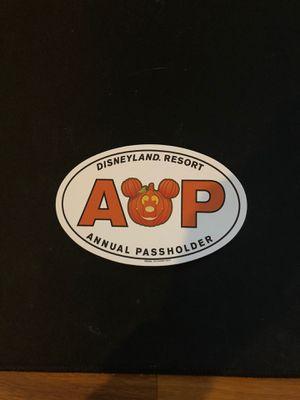 2019 Halloween Disney Annual Passholder magnet for Sale in La Mesa, CA