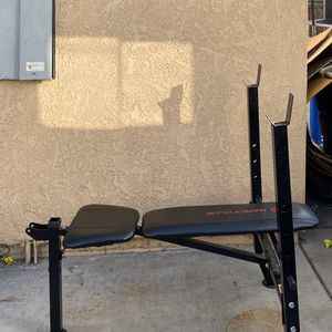 STANDARD WEIGHT BENCH PRESS for Sale in Buena Park, CA
