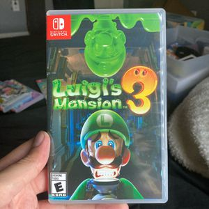 Luigi's Mansion 3 for Nintendo Switch for Sale in Perris, CA