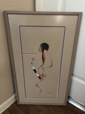 Burgess Roye (Medicine Woman) artist signed & dated for Sale in Euless, TX