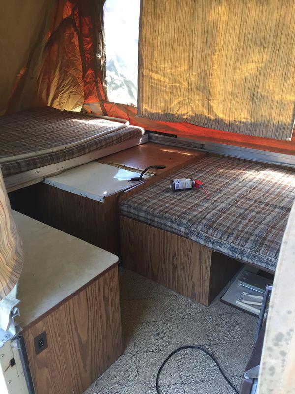 1980 Coleman Popup camper