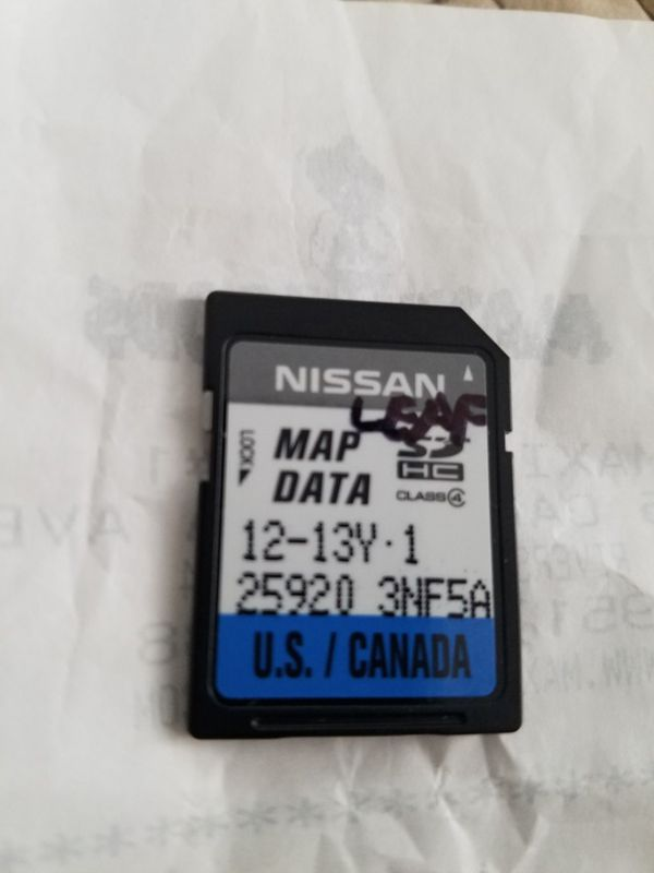 Nissan sentra navigation sd card for Sale in Riverside, CA - OfferUp