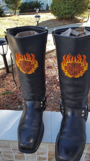Harley Davidson boots for Sale in ROXBURY CROSSING, MA