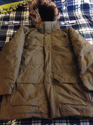 Northface dryvent brown parka jacket size xl nwot for Sale in Burien, WA