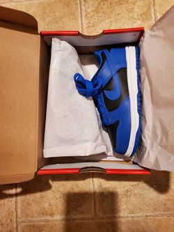 Nike Dunk Low Cobalt Toddler Size 11c for Sale in Tacoma,  WA