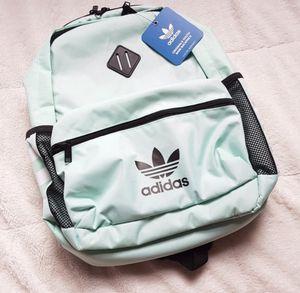 Adidas Originals mint green black Backpack trefoil for Sale in Burbank, CA