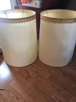 Vintage lamp shades $10 for Sale in Modesto, CA