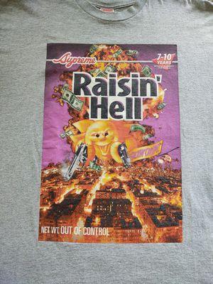Supreme raisin hell tee xl for Sale in Kirkland, WA