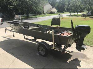 jon boat for Sale in Marietta, GA