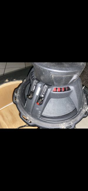 Rockford Fosgate 12 P1 subwoofer 🔊 for Sale in Madera, CA