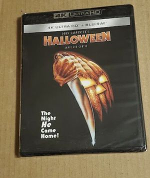 4k bluray halloween brand new blu ray for Sale in Los Angeles, CA