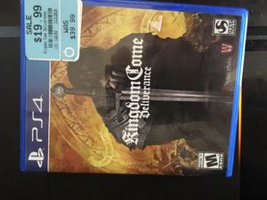 Kingdom come ps4 game for Sale in Houston, TX