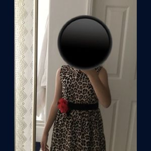 BRAND NEW Kate spade leopard dress with bow it was for my daughter but she never wore it but the ticket fell off! Very pretty! for Sale in Murrieta, CA