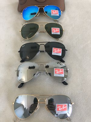 Brand New Authentic Rayban Sunglasses Bundle It! for Sale in Torrance, CA