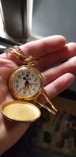Mickey Mouse Pocket Watch for Sale in Columbus, OH
