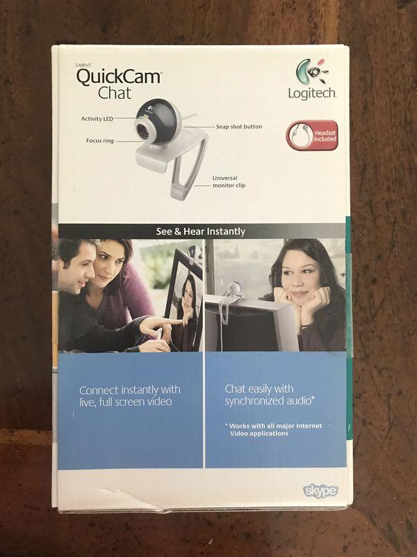 Logitech quickcam chat